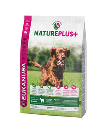 EUKANUBA Nature Plus+ Puppy & Junior Rich in freshly frozen Lamb 2,3 kg