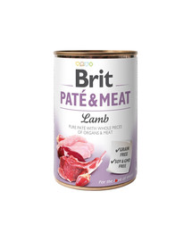 BRIT Paté & Meat Lamb 400 g