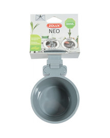 ZOLUX Miska plastová Neo na zavěšení ⌀ 9.5 cm 300 ml