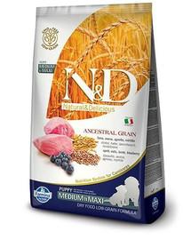 N&D Low Grain Puppy M/L Lamb & Blueberry 2,5kg