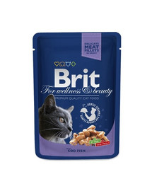 BRIT Premium Cat Adult Cod Fish 100 g