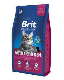 BRIT Premium Cat Adult Chicken 1,5 kg