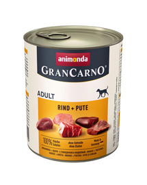 ANIMONDA GranCarno Hovězí & Krůta 800 g