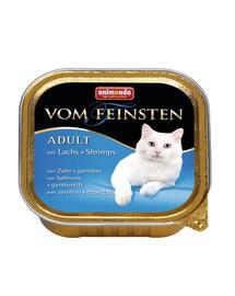 ANIMONDA Paštika pro kočky vom Feinsten Mare s lososem a krevetami  100 g