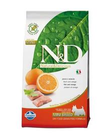 N&D GrainFree Dog Adult Mini Fish & Orange 7kg