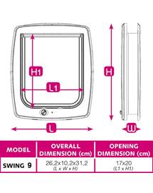 FERPLAST Swing 9 Set