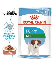 ROYAL CANIN Mini Puppy 85 g x12 kapsička pro malá štěňata