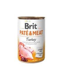 BRIT Pate & Meat Turkey 400g