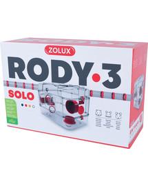 ZOLUX Klec Rody 3 SOLO červená 41x27x28cm