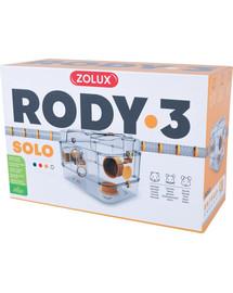ZOLUX Klec Rody 3 SOLO žlutá 41x27x28cm