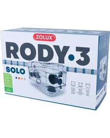 ZOLUX Klec Rody 3 SOLO modrá 41x27x28cm
