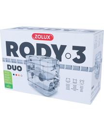 ZOLUX Klec Rody 3 DUO bílá 41x27x40,5cm