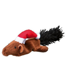 TRIXIE Sada vánočních hraček - myš a veverka 14–17 cm 8 ks/balík
