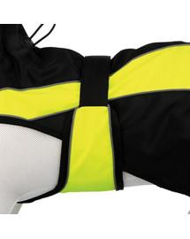 TRIXIE Obleček pro psy safety. l: 55 cm. černo/žlutý