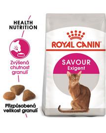 ROYAL CANIN Savour Exigent 4kg granule pro mlsné kočky