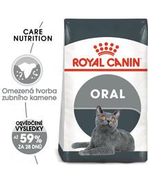 ROYAL CANIN Oral Care 3.5 kg granule pro kočky snižující tvorbu zubního kamene