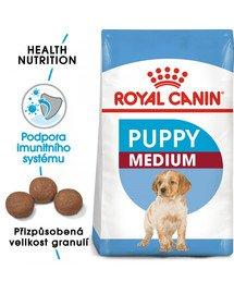 ROYAL CANIN Medium Puppy 15 kg granule pro střední štěňata