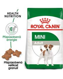ROYAL CANIN Mini adult 8+1 kg zdarma granule pro dospělé malé psy