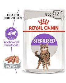 ROYAL CANIN Sterilised Loaf 85g x12 kapsička s paštikou pro kastrované kočky