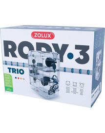 ZOLUX Klec Rody 3 TRIO modrá 41x27x53cm