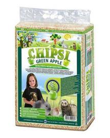 JRS Chipsi Green Apple - piliny jablečné 60 l
