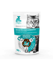 thePet+ Cat sterilised treat 80 g