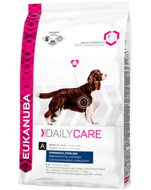 EUKANUBA Daily Care Adult Overweight Sterilised 12.5 kg