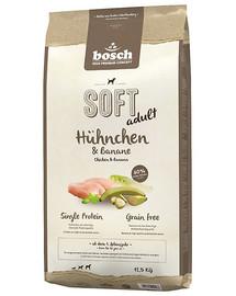 BOSCH Plus kuřecí & banán 12,5 kg