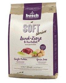 BOSCH Plus senior kozí maso & brambory 12,5 kg