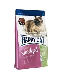 HAPPY CAT Sterilised Weide Lamm Jehnečí 1,4 kg