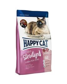 HAPPY CAT Sterilised Voralpen Rind Hovězí 1,4 kg