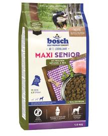 BOSCH Maxi Senior Drůbeží a rýže 1 kg