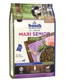 BOSCH Maxi Senior Drůbeží a rýže 2,5 kg