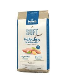 BOSCH Soft junior Kuřecí a sladké brambory 12,5 kg