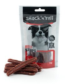 SNACK & ROLL Beef Strips 70 g