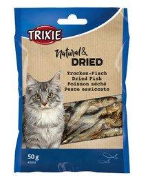 TRIXIE Sušené rybičky pro kočku 50g