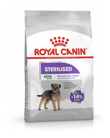 ROYAL CANIN Mini sterilised 8 kg granule pro kastrované malé psy