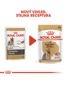 ROYAL CANIN Yorkshire Loaf 85g kapsička s paštikou pro jorkšíra