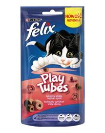 FELIX Play Tubes s příchutí krůty a šunky 50g