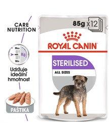 ROYAL CANIN Sterilised Dog Loaf 12x 85g kapsička s paštikou pro kastrované psy