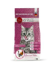 O'CANIS for cats Suché krmivo pro kočky: husa a kuře 600 g
