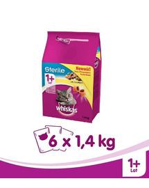 WHISKAS Steril kuřecí 1.4kg x 6