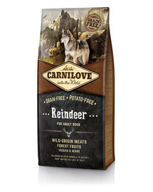 CARNILOVE Dog Reindeer for Adult 12kg