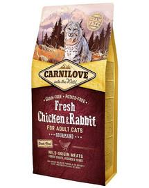 CARNILOVE Adult Gourmand Fresh Chicken & Rabbit  2 kg