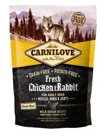CARNILOVE Fresh Adult Dog Chicken & Rabbit 1,5 kg