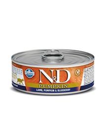 N&D Cat lamb & pumpkin & blueberry 80g