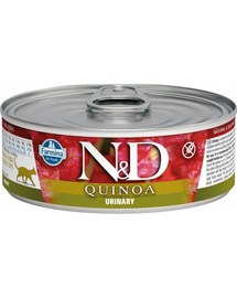N&D Cat Quionoa Adult Urinary Duck & Cranberry 80g