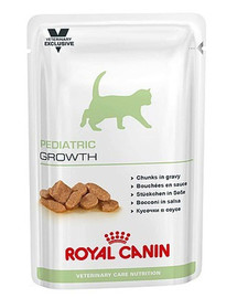 ROYAL CANIN Veterinary Care Cat Pediatric Growth Pouch 12x 100g