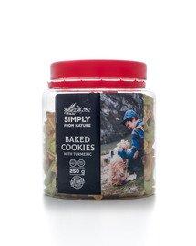 SIMPLY FROM NATURE Kurkumové sušenky pro psy 250 g