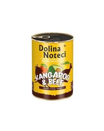 DOLINA NOTECI Premium SuperFood Klokan a hovězí  400 g